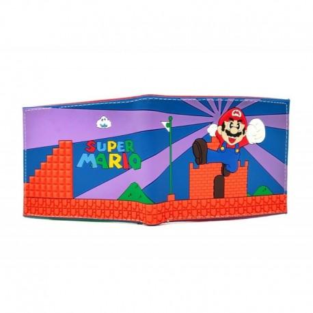 Super Mario World Billetera En Goma De Caucho (Entrega Inmediata)