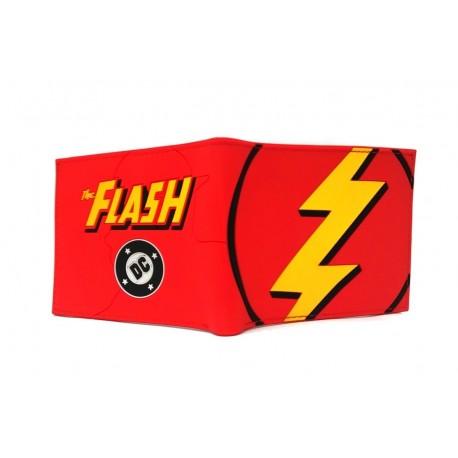 Dc The Flash Billetera En Goma De Caucho (Entrega Inmediata)