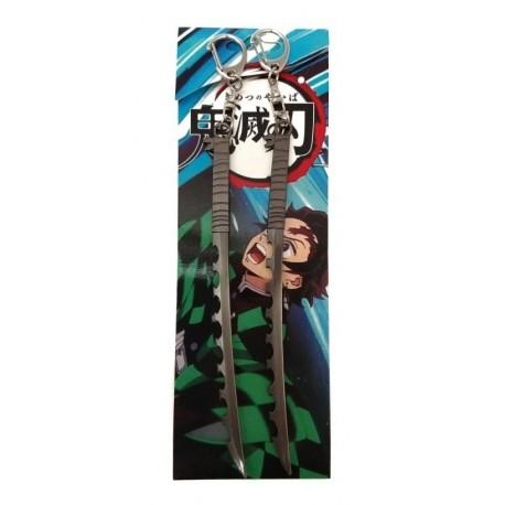 Kimetsu No Jaiba Inosuke Hashibira Espadas Metálicas (Entrega Inmediata)