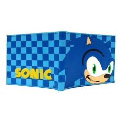 Sonic The Hedgehog Billetera En Goma De Caucho (Entrega Inmediata)