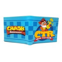 Crash Bandicoot Billetera En Goma De Caucho (Entrega Inmediata)