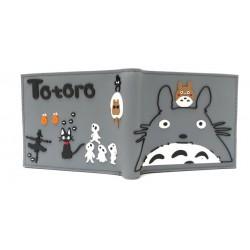 Mi Vecino Totoro Billetera En Goma De Caucho Gris (Entrega Inmediata)