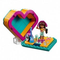 Juego Construcción Lego Amigos Andrea 41354 Caja De Corazón (Entrega Inmediata)