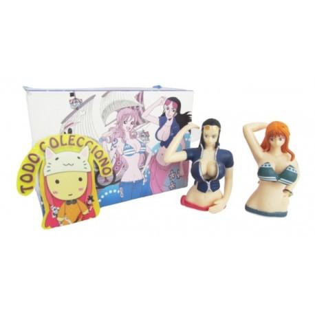 Dos Figuras Sexys Hentai One Piece Brasier Que Brinca (Entrega Inmediata)