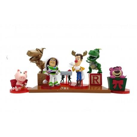 Toy Story Navidad Colección X 7 Figuras En Caja (Entrega Inmediata)