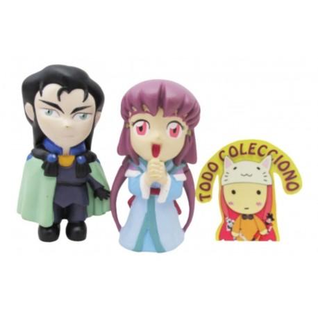 Set De Dos Figuras Anime De Tenchi Muyo (Entrega Inmediata)