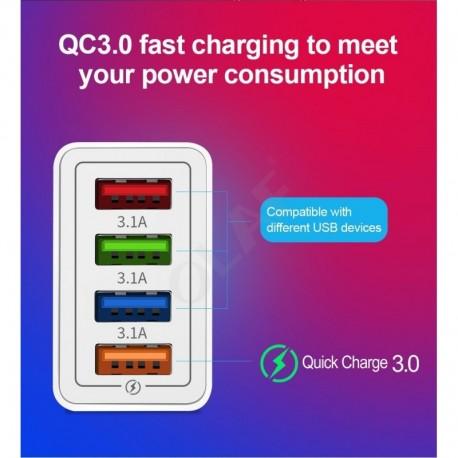 Cargador Carga Rápida Para Celular LG + Cable Micro Usb (Entrega Inmediata)