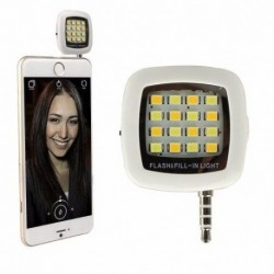 Flash Led Para Celular Lampara Linterna Telefon Android Ios (Entrega Inmediata)