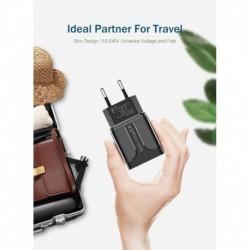 Cargador Carga Rápida Para Celular Motorola+ Cable Micro Usb (Entrega Inmediata)