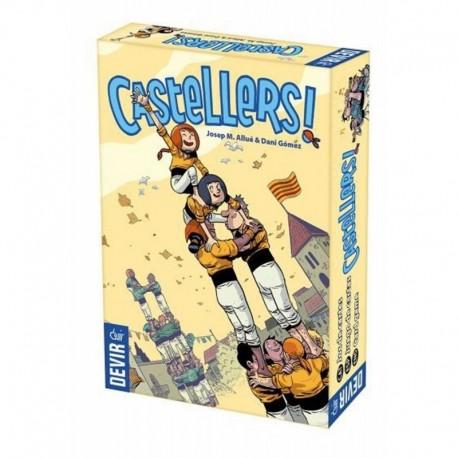 Castellers Juego De Mesa Devir Castillo Torres (Entrega Inmediata)