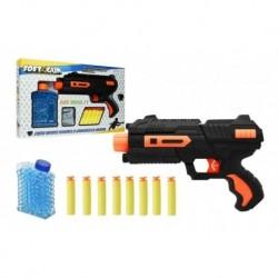 Pistola Juguete Dual Dardos E Hidrogel Softgun Ref. 8820 (Entrega Inmediata)