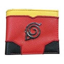 Billetera Naruto Aldea De La Hoja Cartera (Entrega Inmediata)