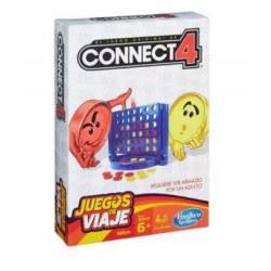 Connect 4 Juegos De Viaje Hasbro Juguetes Conecta  B1000 (Entrega Inmediata)