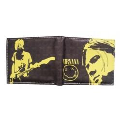 Billetera Nirvana Kurt Cobain + Obsequio (Entrega Inmediata)