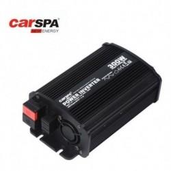 Inversor Carspa De 300w Y Conector Cenicero Y Batería Nuevo (Entrega Inmediata)