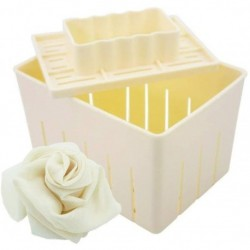 Mangocore Tofu Maker Press Mold Kit + Cheese Cloth Soy ! (Entrega Inmediata)