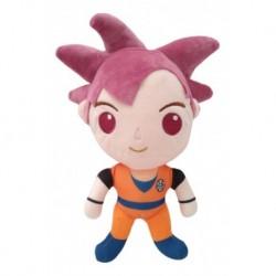 Dragon Ball Z Super Saiyan Dios Rojo Goku Peluche Mediano (Entrega Inmediata)