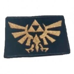 La Legenda De Zelda Parche Aplique Bordado Trifuerza (Entrega Inmediata)