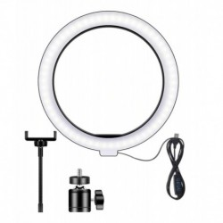Aro De Luz 26cm Led Ring Fill Light + Tripode De Escritorio (Entrega Inmediata)