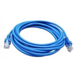 Cable De Red Utp Cat5e, Pach Cord De 3mts (Entrega Inmediata)
