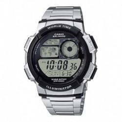 Reloj Casio Ae-1000wd Acero Inoxidable Original Envío Hoy (Entrega Inmediata)