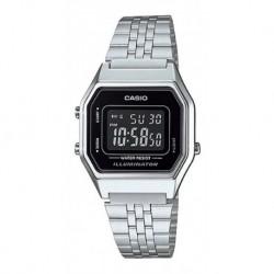 Casio Retro La680wa-1b Resist Agua Original Garantia Envioya (Entrega Inmediata)