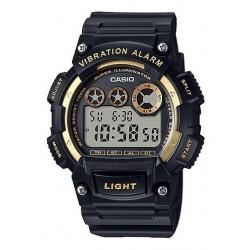 Reloj Casio W-735h Vibración Resiste Agua Original Garantia (Entrega Inmediata)