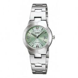 Reloj Casio Ltp-1241d-3a Mujer Acero Original Garantizado (Entrega Inmediata)