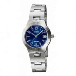 Reloj Casio Ltp-1241d-4a Mujer Acero Original Garantizado (Entrega Inmediata)
