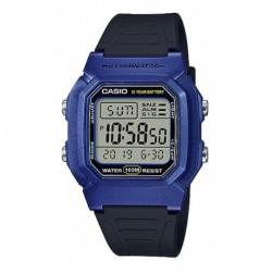 Reloj Casio W-800hm-3av 2da Zona Hora Cronómetro Resist Agua (Entrega Inmediata)