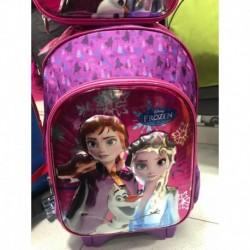 Maleta Morral Escolar Disney Frozen Princesas (Entrega Inmediata)