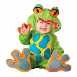 Disfraz Bebe Rana Niño Niña Tipo Peluche (Entrega Inmediata)