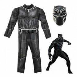 Disfraz Pantera Negra Musculos Halloween (Entrega Inmediata)