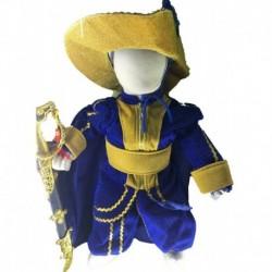Disfraz Bebe Caballero Mosquetero (Entrega Inmediata)