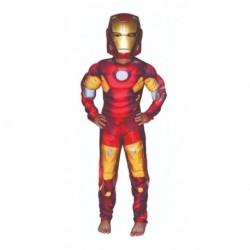 Disfraz Ironman Musculos Halloween (Entrega Inmediata)