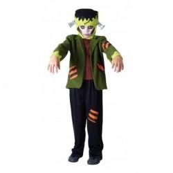 Disfraz Traje Frankenstein Niño Halloween (Entrega Inmediata)