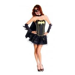 Disfraz Mujer Batichica Halloween (Entrega Inmediata)