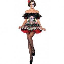 Disfraz Mujer Catrina Halloween (Entrega Inmediata)