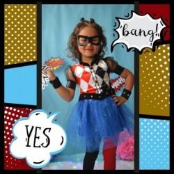 Disfraz Harley Queen Halloween (Entrega Inmediata)