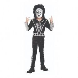 Disfraz Rockero Kiss Niño Halloween (Entrega Inmediata)