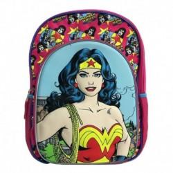 Maleta Morral Escolar Dc Comics Mujer Maravilla (Entrega Inmediata)