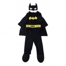 Disfraz Bebe Batman Musculos Halloween (Entrega Inmediata)