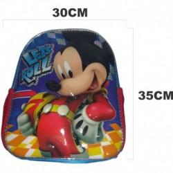 Morral Maleta Escolar Mickey (Entrega Inmediata)