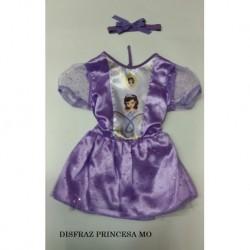 Disfraz Bebe Princesa Morado (Entrega Inmediata)