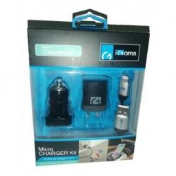Cargador Y Cable 2 En 1 Usb Para Dispositivos Ip Marca Igoma (Entrega Inmediata)