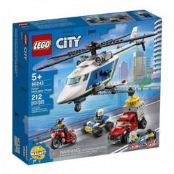 Lego City Policía: Persecución En Helicóptero (Entrega Inmediata)
