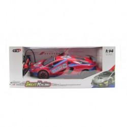 Carro R/c Super Turbo Scale 1:16 Rojo/azul (Entrega Inmediata)