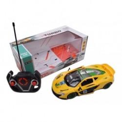 Carro R/c Super Turbo Scale 1:16 Amarillo/verde (Entrega Inmediata)