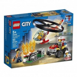 Lego City Intervención Del Helicóptero De Bomberos (Entrega Inmediata)