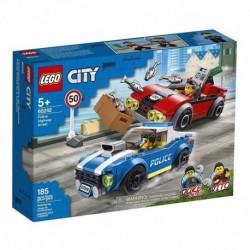 Lego City Policía: Arresto En La Autopista (Entrega Inmediata)